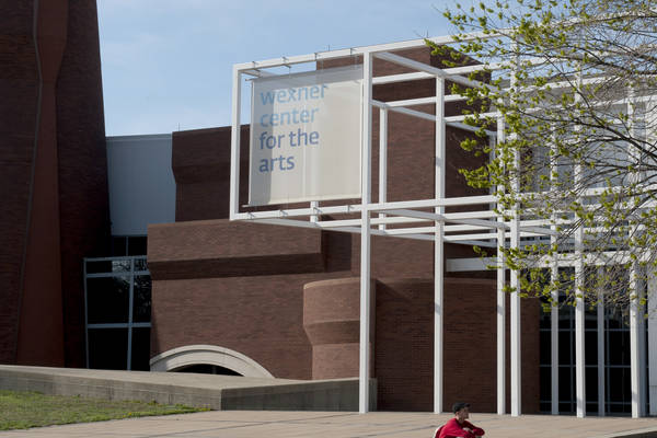 A view of the wexner center of the arts